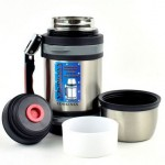 Cookinex Stainless Steel Jumbo Wide-Mouth Vacuum Thermos Only $17.99 Shipped!