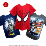 2 Pack Comic T-Shirts for Kids Only $9.99 Shipped!