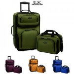 U.S. Traveler 2-Piece Carry-on Luggage Set Only $29.99!