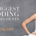 Save up to 60% off Wedding Dresses at DressFirst