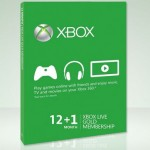 13-Month Xbox Live Gold Membership Only $44.99