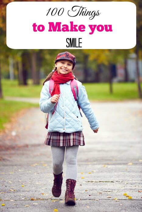 100 things to make you smile