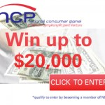 Nielsen Home Scan Consumer Panel Win Up to $20000!