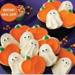 Cheryl's Buttercream Ghost & Pumpkins Cookies 45% off with Free Tote Today Only