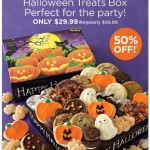 Cheryl's Halloween Treat Box 50% Off Today Only