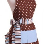 Flirty Aprons Flash Sale Today 50% Off Original Blue Chocolate Apron