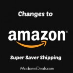 Change to Amazon's Super Saver Shipping