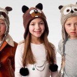 Kids' Knit or Fuzzy Animal Hats Only $9.99!