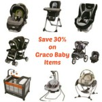Today Only Save up to 30% on Graco Baby Items