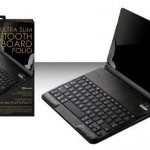 Ultra-Slim Bluetooth Keyboard Folio with Stand for iPad $35.99 Shipped!