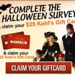 Complete a survey and claim your $25 Kohl's giftcard!