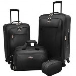 Traveler's Choice Charleville 4-Piece Luggage Set 67% Off