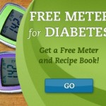 Free Diabetic Meter with Recipe Book