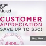 Murad Coupons Save Up to $30!