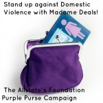 Stand up to Domestic Violence with the Allstate's Foundation Purple Purse Campaign