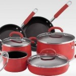 Rachael Ray Porcelain Enamel 10-Piece Nonstick Cookware Set $119.99 Shipped!