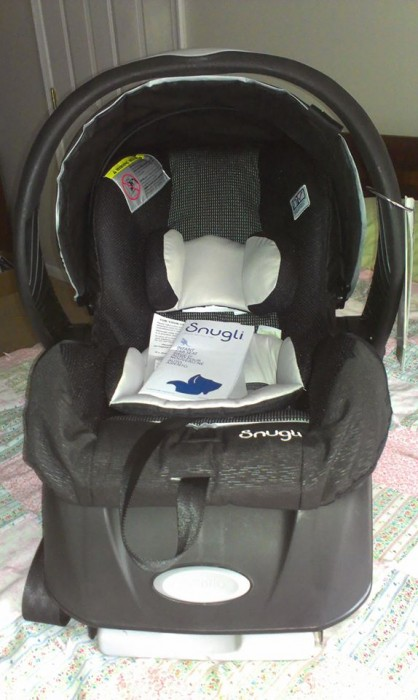 Once I Saw The Car Seat Realized It Was Manufactured By Same Company Evenflo Which Made Seats Bought For All My Children