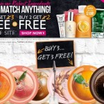The Body Shop Sale Buy 3 Get 3 Now