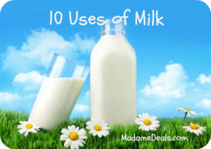 uses of milk