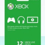 12-Month Xbox Live Gold Membership Card for Xbox 360 Only $44.99 Shipped!