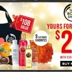 The Body Shop Black Friday Sale