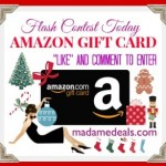Flash Contest Today: Win Amazon Gift Card