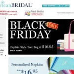 American Bridal Black Friday Sale 2013