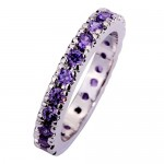 Women's Amethyst Ring only 1 Penny