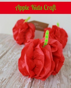 Apple Kids Craft