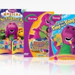 Barney Sing and Learn 3-DVD Bundle