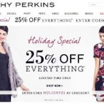 Dorothy Perkins Black Friday Sale 2013