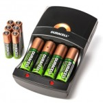 Duracell Charger with 4AA & 6AAA Rechargeable NiMH Batteries