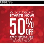 EXPRESS Black Friday Sale
