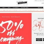 J.Crew Factory Black Friday Sale 2013
