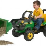 Peg Perego Chain-Drive John Deere Loader $129.99 Today!