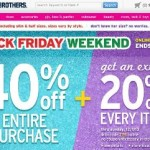 Justice Black Friday Sale 2013