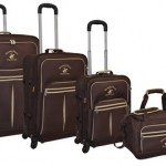 Beverly Hills Polo Club The Pale Rider 4-Piece Luggage Set 80% Off
