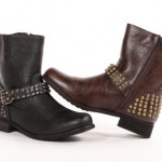 Carrini Women's Studded Motorcycle Boots $29.99 Shipped!