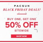 PACSUN Black Friday Sale 2013