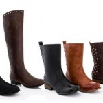 Lady Godiva Vegan-Leather Riding Boots Up to 67% Off