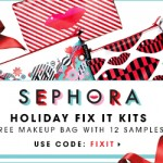 Sephora Free Makeup Bag + Samples with Purchase