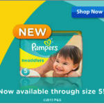 Comfort and Leak Protection with Pampers® Swaddlers