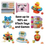 Save up to 40% on VTech Toys and Games