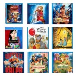 Sale on Popular Disney Blu Rays