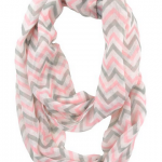 Sheer Chevron Infinity Scarf only $8.99 Shipped