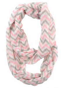 Sheer Chevron Scarf