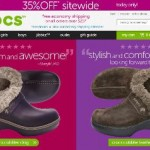 Crocs Cyber Monday Sale 2013