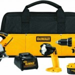 Save 46% on a Dewalt Cordless 4 Piece Tool Kit