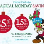 Disney Store Coupon Up to 25% Off Today Only