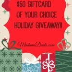 $50 giftcard of your choice giveaway!